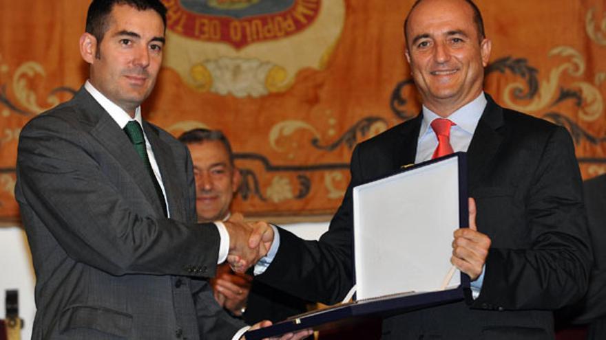 De la entrega del Premio Nacional de Comercio Interior a La Laguna #3