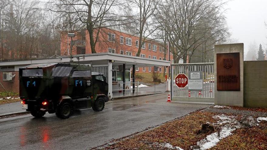 Alemania detiene a un soldado supuesto cómplice del militar que urdía un ataque ultraderechista