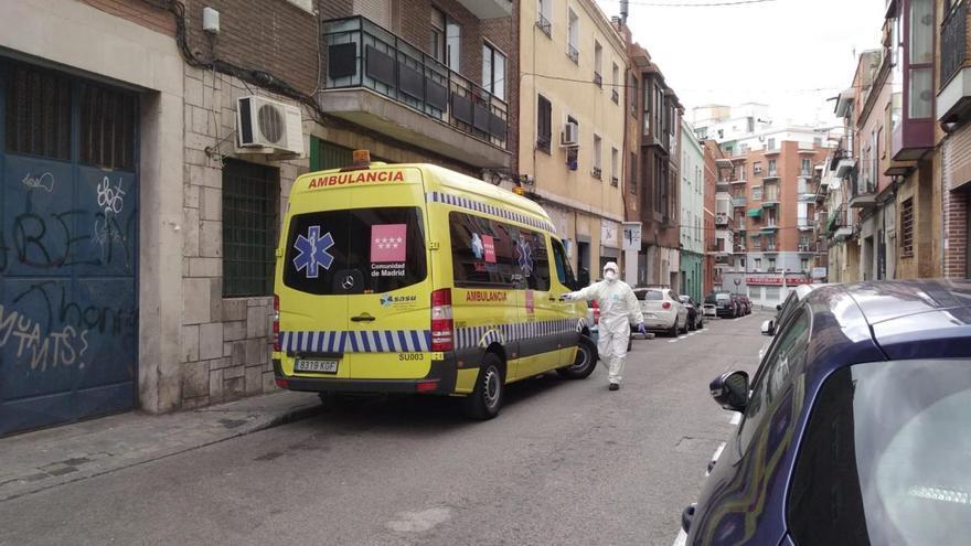 Traslado en ambulancia./ G. W.