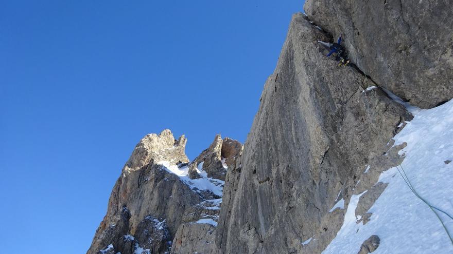 Equipo Masculino Alpinismo.