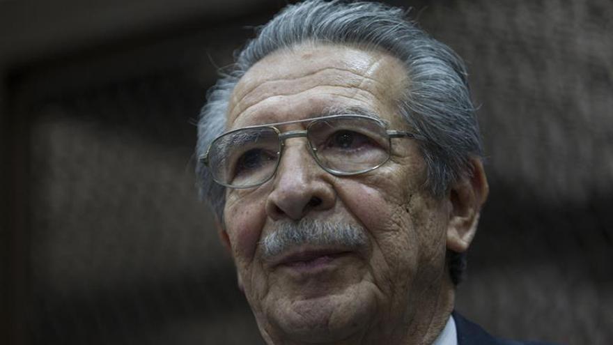 Ríos Montt declarado incapaz para afrontar un juicio por genocidio en Guatemala