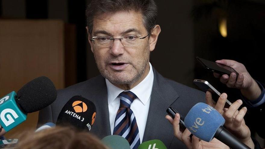 """Catalá: hay """"armas"""" legales suficientes para luchar contra el terrorismo"""