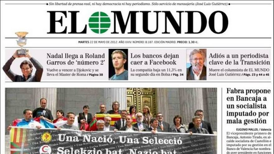 De las portadas del día (22/05/2012) #8