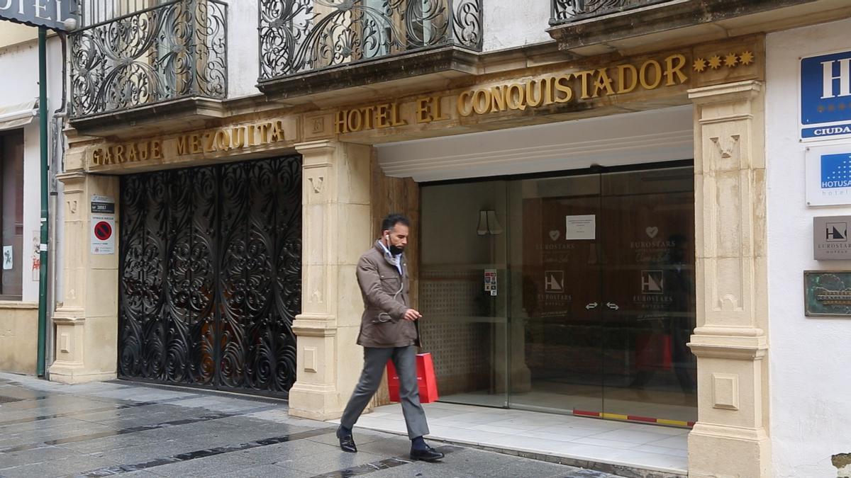 Hoteles cerrados por la pandemia del coronavirus
