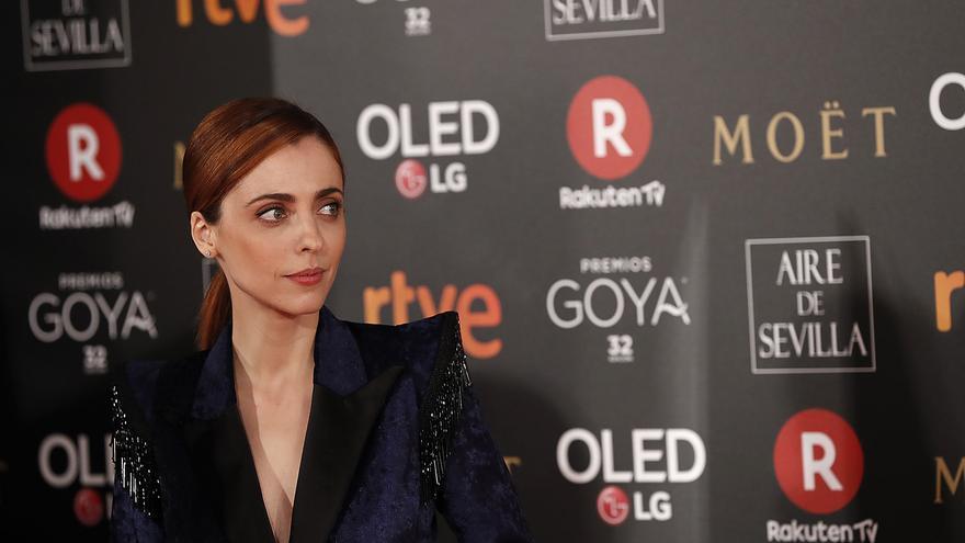Leticia Dolera en los Goya 2018