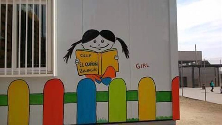 Colegio Público El Quiñón de Seseña (Toledo) / Foto: Change.org