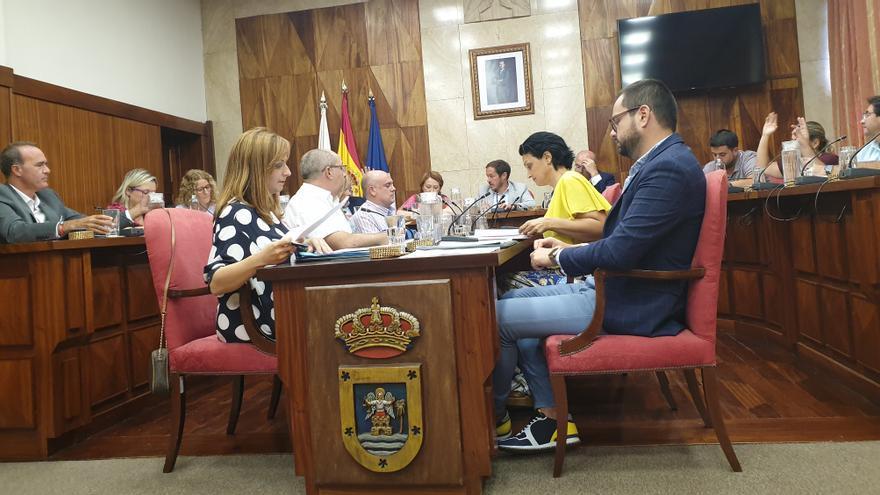 Pleno del Cabildo celebrado este viernes.