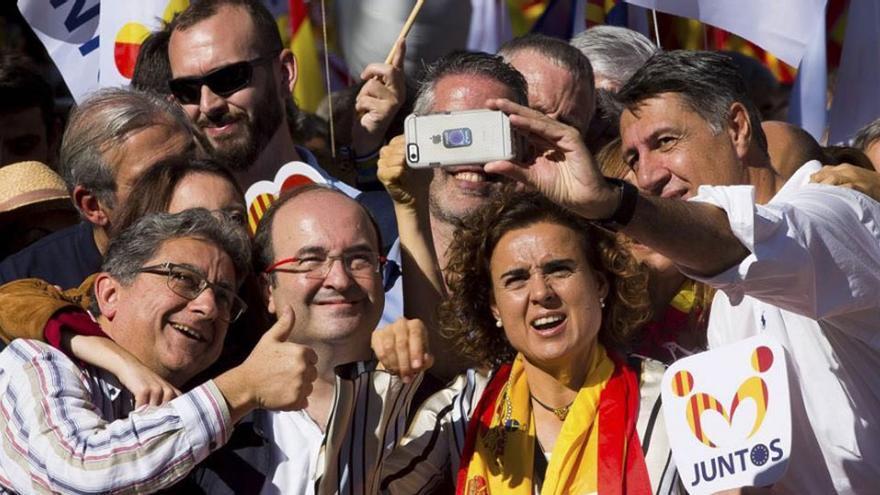 El selfie que difundieron y retrató a varios políticos
