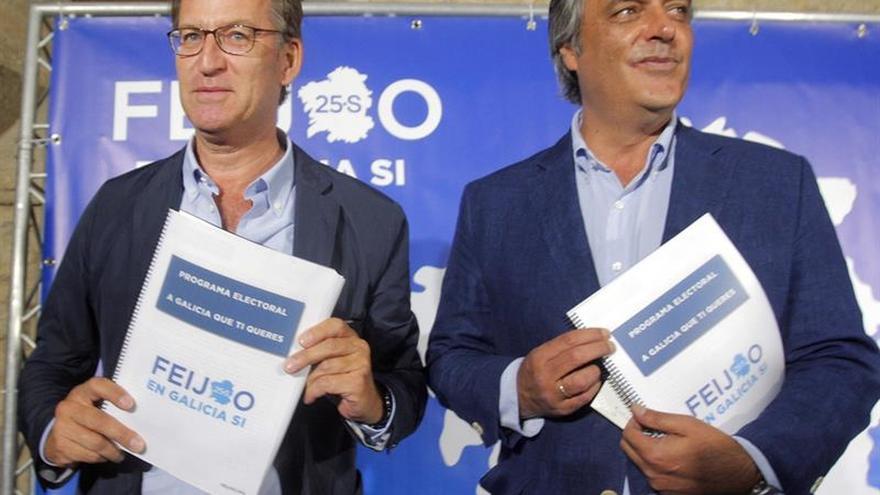 Feijóo ofrece a los gallegos un programa para la continuidad y el crecimiento