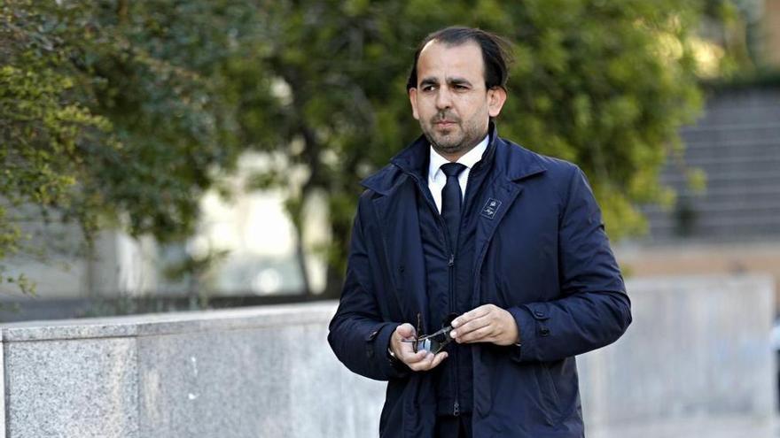 Alberto Mendoza, exconcejal del Ayuntamiento de València con Rita Barberá.