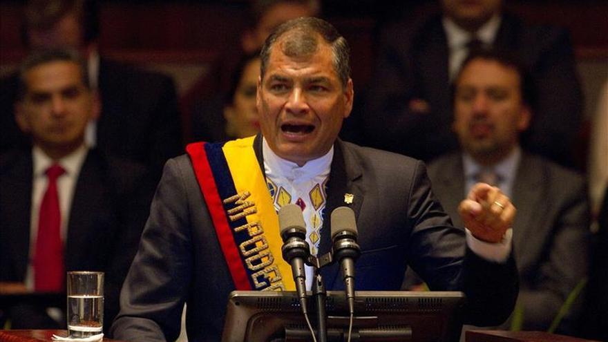 Correa defiende los cambios pero cree que Ecuador debe ser más justo y productivo