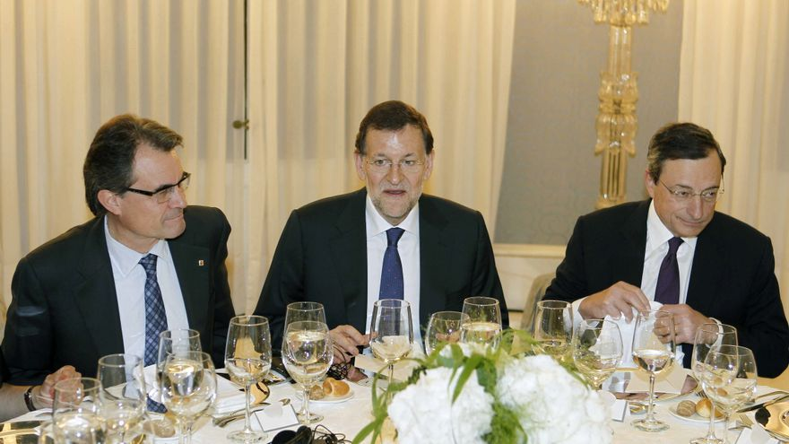 El adelanto electoral en Cataluña planea sobre la reunión de Rajoy con Mas
