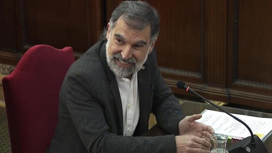 Jordi Cuixart, en el Supremo.