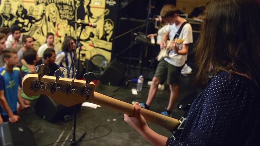 Gazterock: Doce días de campamento de verano en Vitoria a ritmo de rock