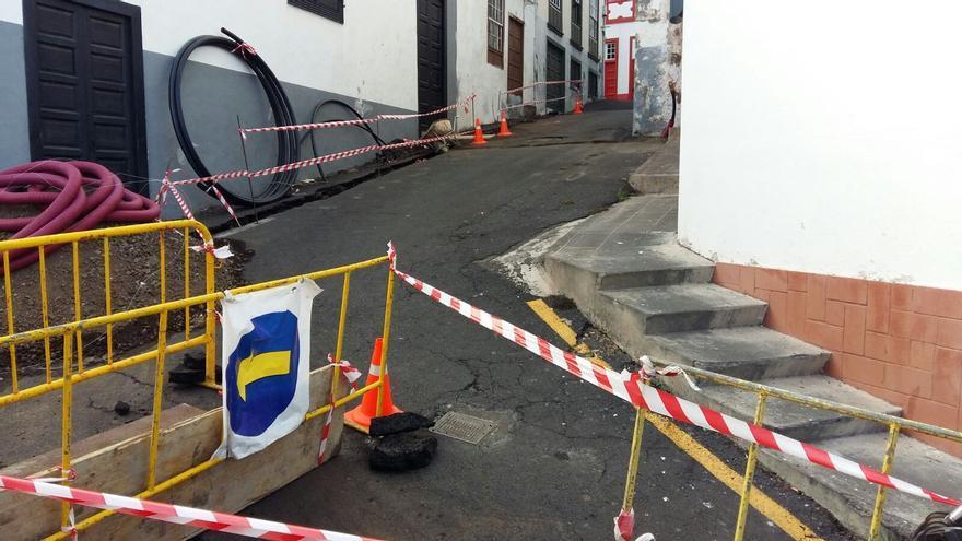 Calle Sol de Santa Cruz de La Palma.