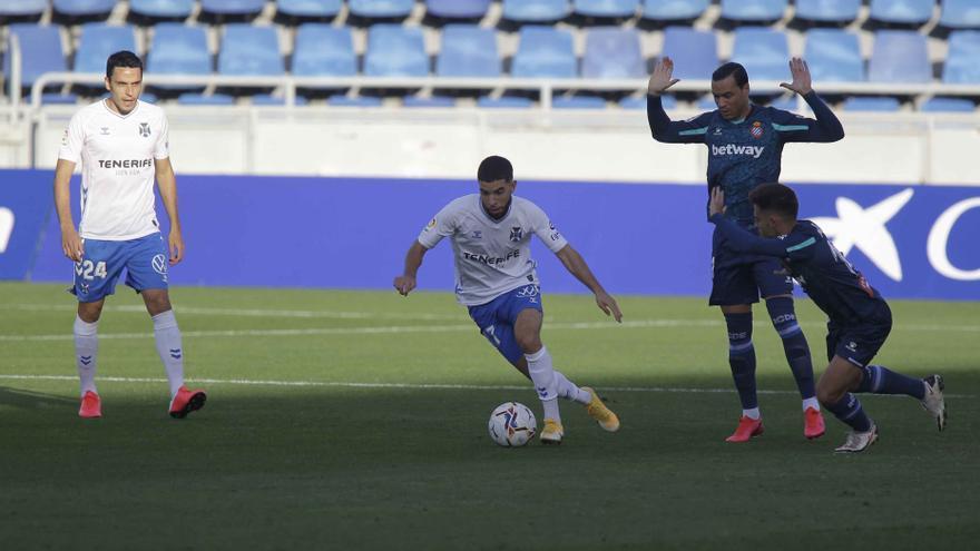 El CD Tenerife-RCD Espanyol en imágenes
