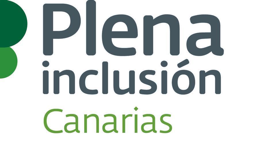 Logo de Plena Inclusión Canarias.