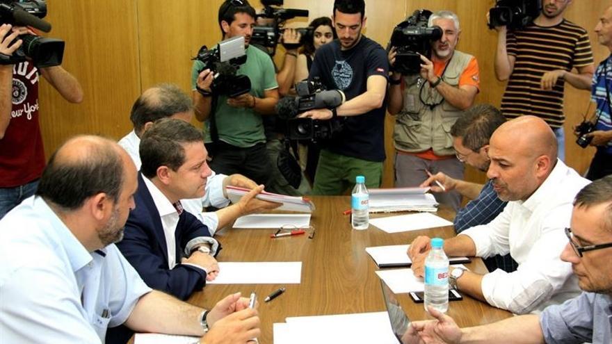 Reunión Podemos PSOE Castilla-LA Mancha