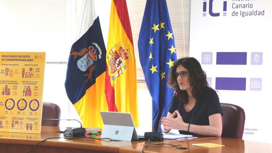 Kika Fumero, durante la presentación de las conclusiones de la encuesta