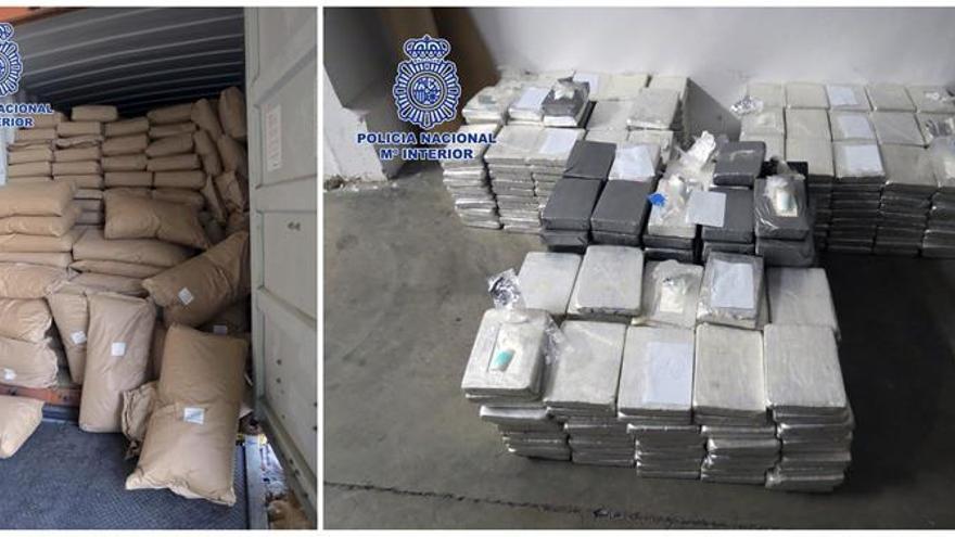 Intervenidos 535 kilos de cocaína, el mayor alijo por colaboración ciudadana
