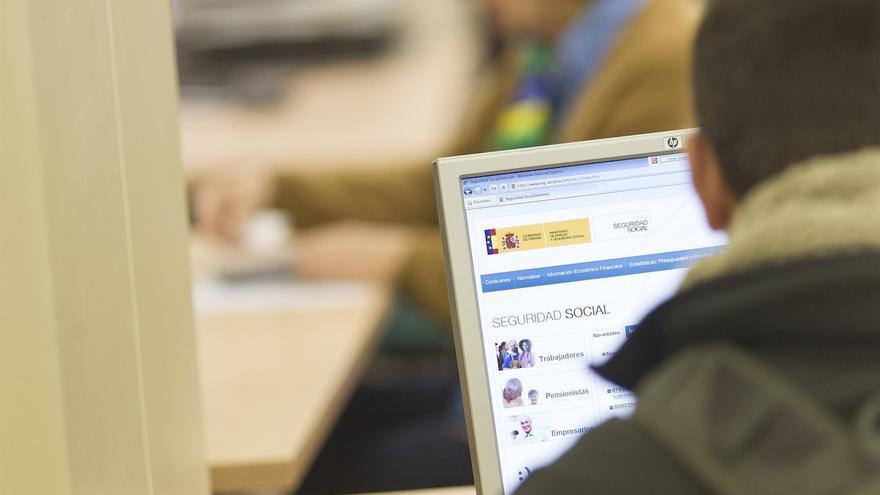Oficina de la Seguridad Social. (EUROPA PRESS)