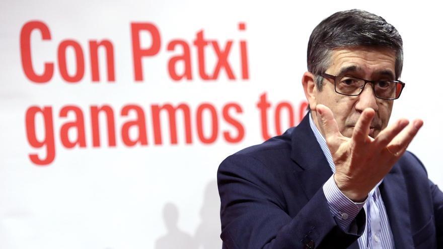 """Patxi López advierte de que el voto útil """"no es para matar a Pedro o a Susana, sino para salvar al PSOE"""""""