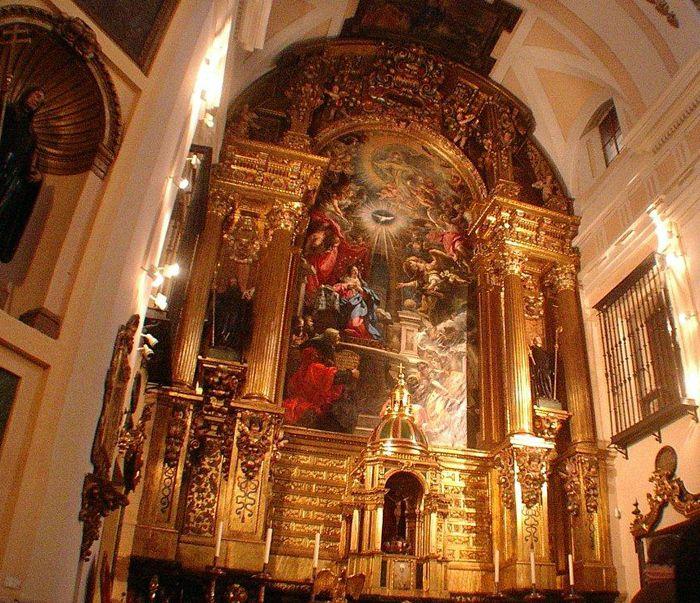 La iglesia de San Plácido, belleza oculta en el convento
