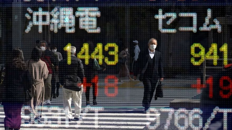The Nikkei falls 2% in the beginning due to the end of support for banking in the US