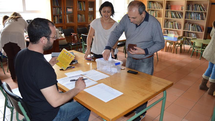 Las elecciones primarias de Santander Sí Puede se han celebrado en el Colegio Cisneros.