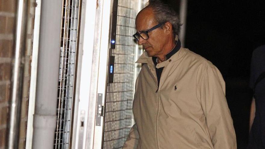Edmundo Rodríguez Sobrino, tras su detención.