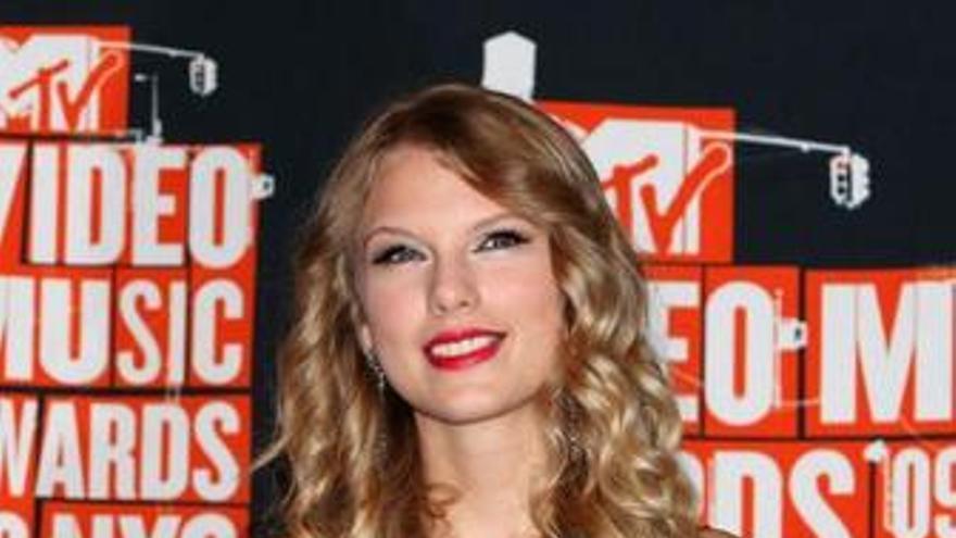 La cantante country Taylor Swift