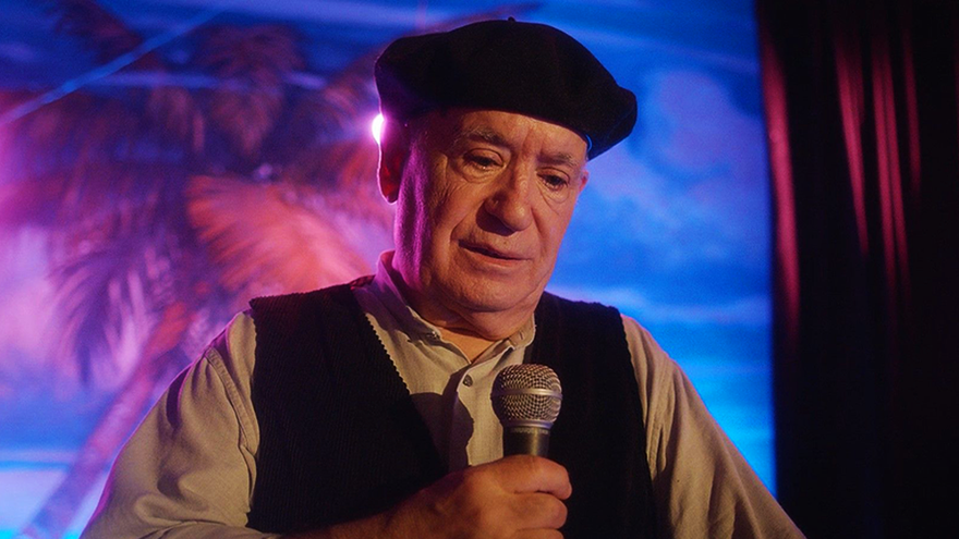 Miguel Ángel Tirado, en un capítulo de 'El último show'