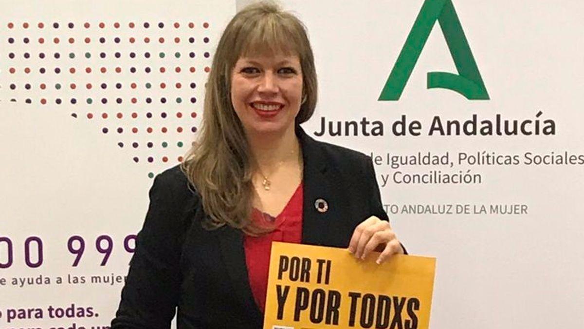 La coordinadora del IAM, Lourdes Arroyo.
