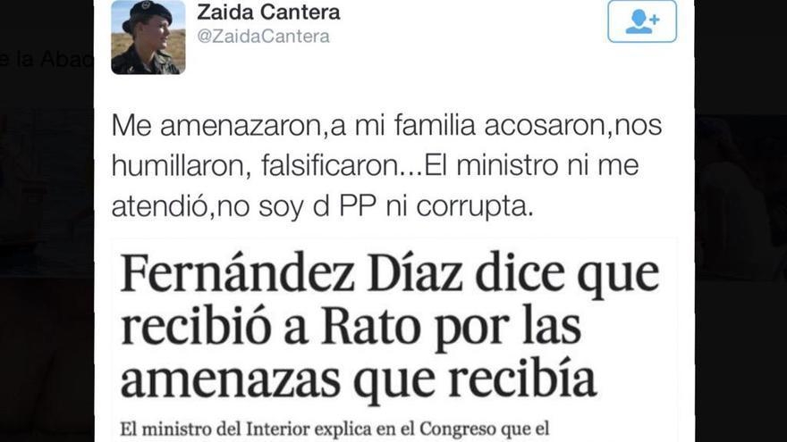 Tweet Zaida Cantera