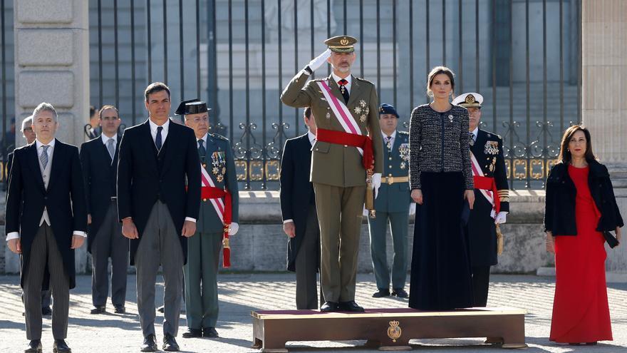 El rey recibe a los últimos militares de Afganistán tras 19 años de misión