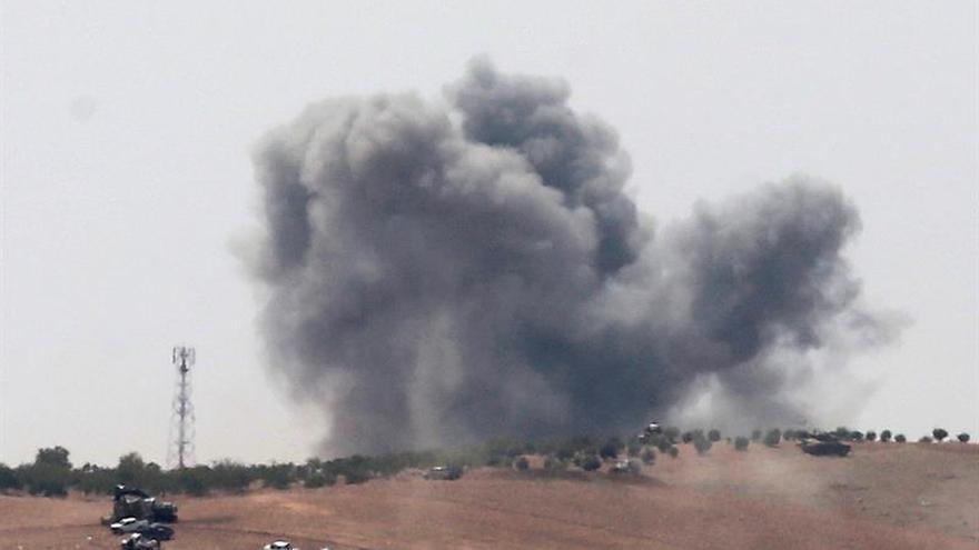 El ejército sirio recupera las zonas ocupadas por el EI tras el ataque de la coalición