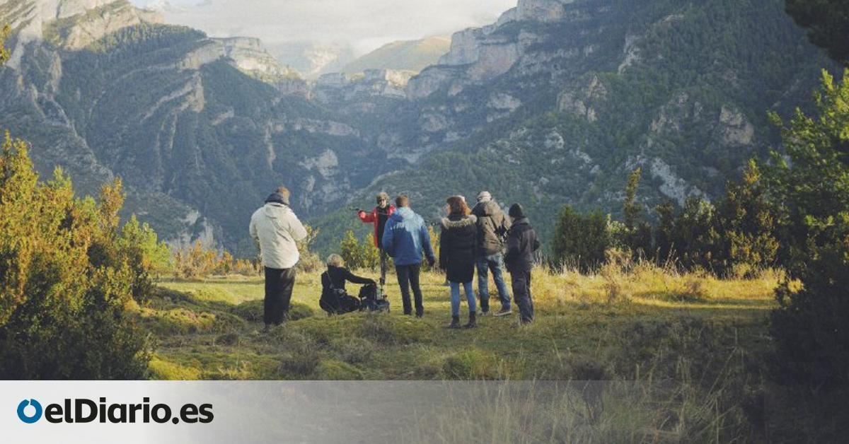 Un desierto demográfico de cine: Sobrarbe se convierte en escenario de película con 'Armugán'