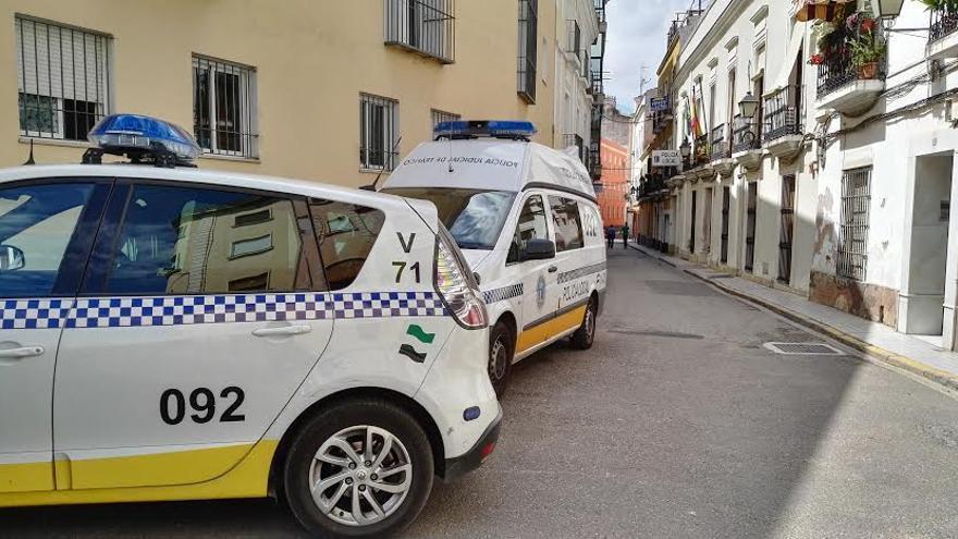 Policía local Badajoz