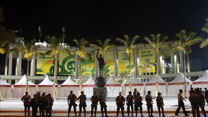Río de Janeiro redobla la seguridad frente a las protestas en la final Brasil-España