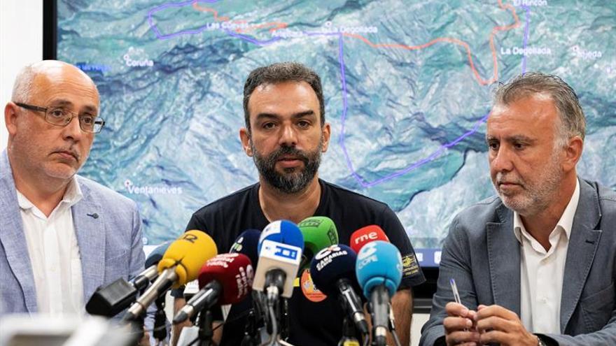 Antonio Morales, Federico Grillo y Ángel Víctor Torres. (EFE)