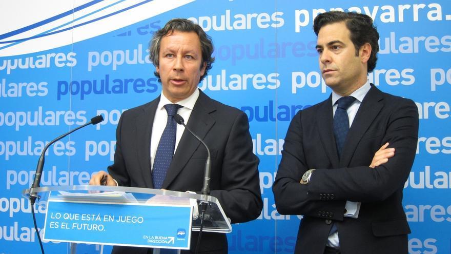"""Floriano (PP) espera que UPN elija un candidato que """"permita la colaboración leal"""" entre ambos partidos"""