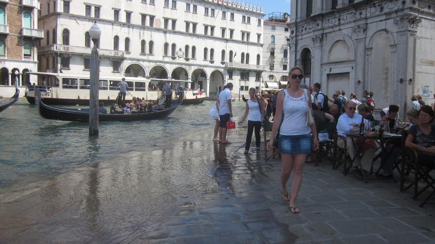 Venecia se hunde —Por dsearls@flickr