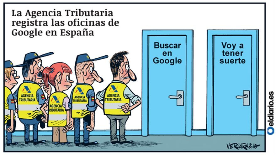 Registro en google for Oficina tributaria madrid