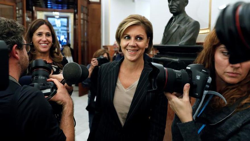 Cospedal: Rita Barberá fue una magnífica política y una mujer honesta
