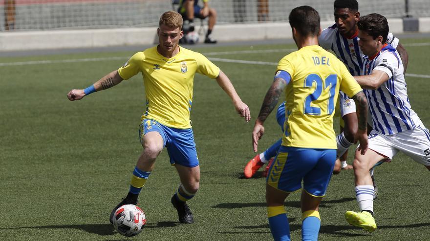 Las Palmas Atlético no pasa del empate frente al Recreativo de Huelva