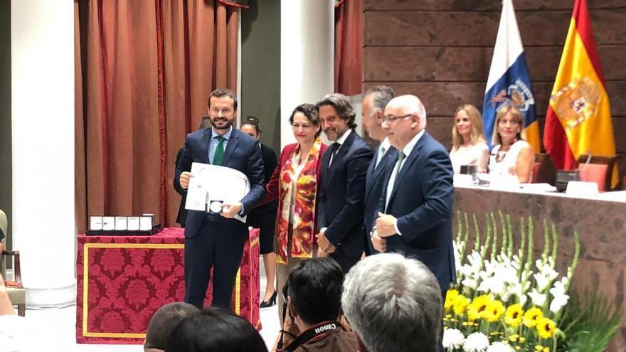 Entrega del premio a Castilla-LA Mancha en Canarias