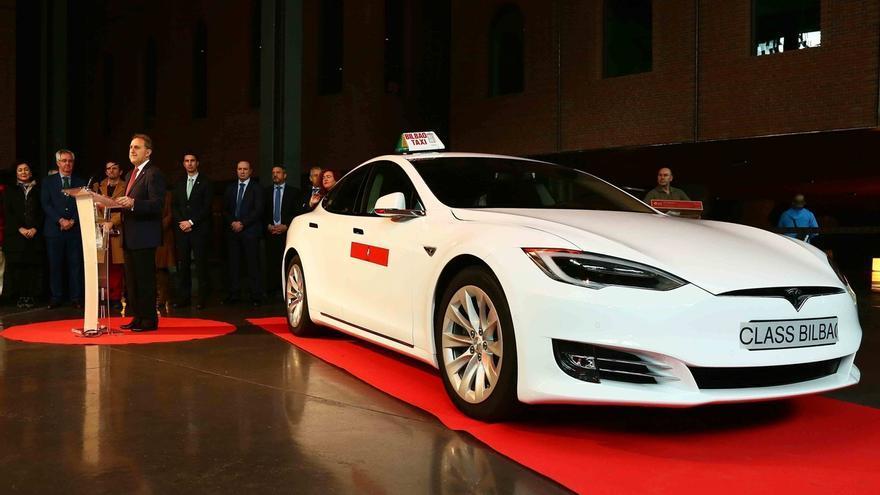 Bilbao incorpora a su flota de taxis un vehículo 100% eléctrico