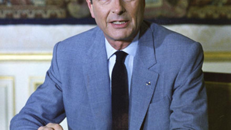 El ex presidente francés Jacques Chirac