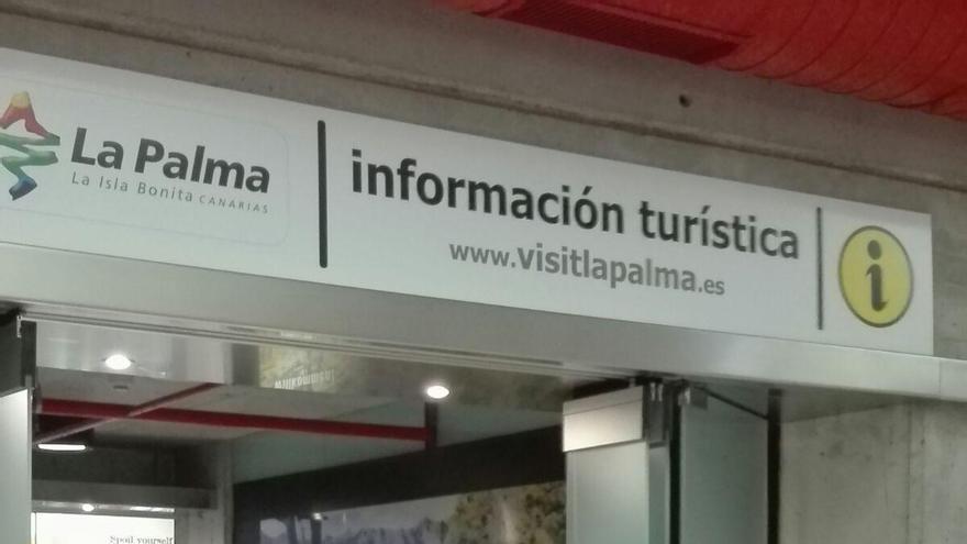 Oficina de Turismo del Aeropuerto de La Palma.