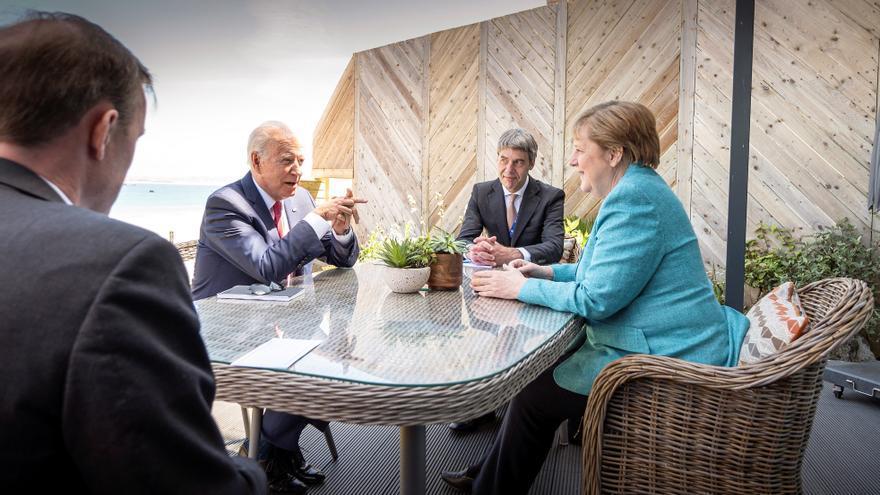 """El G7, de """"buen rollo"""" con Biden tras el terremoto Trump"""